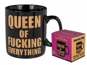 Kubek XL Queen of fucking everything DLA KRÓLEWNY